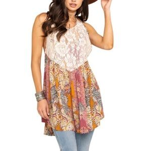 Free People Count Me in Trapeze Tunic